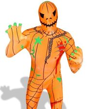 Pumpkin Morphsuit Costume Morph Suit Body Sock Spandex Halloween Hero X Large