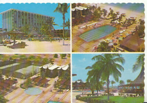 Aruba Postcard - Sheraton Hotel - Beach - Pool and Bar - Ref TZ5021