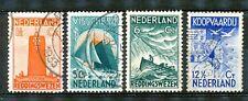 Nederland  257 - 260 gebruikt