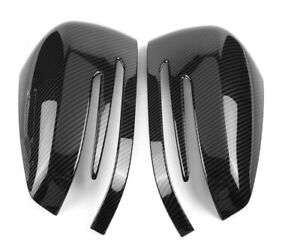Mercedes Carbon Style Mirror Caps Wing Mirrors A B C E S CLA GLA Class