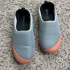 Mahabis Gray Summer Clogs Gray Coral Orange Slippers Women's EUR 38 / US 7.5