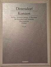 DITTERSDORF, Concerto en Mi bémol majeur pour la Contrebasse - réduction Contreb