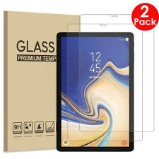 "2X Tempered Glass Guard Screen Protector Samsung Galaxy Tab S4 10.5"" Tablet T830"