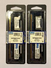 2x Dell Certified PC2-5300F 2GB Memory Modules SNP9W657/2GX2 New RAM Nanya