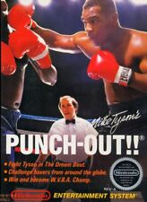 MIKE TYSON PUNCH OUT Vintage Arcade Nintendo Atari Sega Poster 24x36 inch