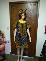 Tye dye Short African Print Dress