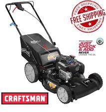 "Craftsman 21"" 163cc Briggs Stratton Self-Propelled Mower High Rear Wheels 37744"