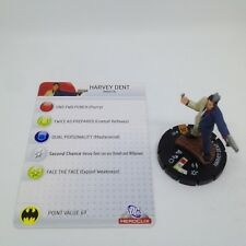 Heroclix Arkham Asylum set Harvey Dent #102 Limited Edition figure w/card!