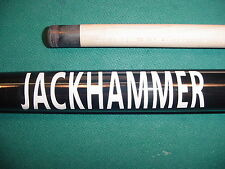 SAVE 90% WOBBLE JACKHAMMER JUMP BREAK CUE 19.1oz.  pool billiards 07-1562-15