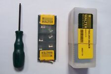 """WALTER 1.5"""" END MILL F3042.UW31.0238.Z06.09 WITH 10 APHT INSERTS FOR ALUMINUM"""