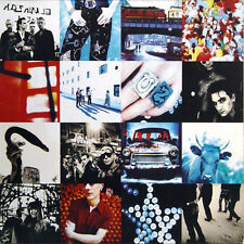 U2 - Achtung Baby (1991) NEW sealed LP GREECE