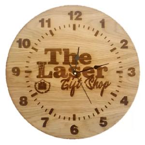 Personalised Engraved Wall Clock