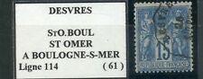 BELLE OBLITERATION / CONVOYEUR / TIMBRE FRANCE OBLITERE TYPE SAGE N° 90