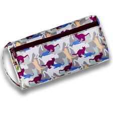 Re-Uz 2 Zip Toiletry Wash Makeup Cosmetic Bag Cats Design Large Water Resistant