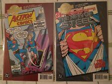 DC comics Millennium Edition ACTION COMICS & THE MAN OF STEEL Superman Supergirl
