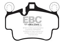 EBC Redstuff Front Brake Pads Porsche Cayman Cast Iron Discs only 2.9 2009 > 12