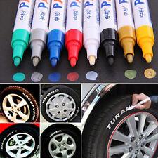 Impermeable permanente Pintura marcador pluma coche pisada del neumático de goma para Universal Lote