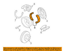 GM OEM-Brake Shoes 19152704