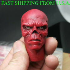 1/6 Red Skull Hugo Weaving Head Sculpt Captain America For Hot Toys Figure ❶USA❶
