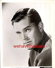 Vintage Jeffrey Hunter QUITE HANDSOME 50s Publicity Portrait
