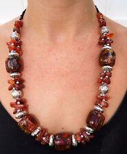 Moroccan Necklace Arabic African Handmade Stones Berber Ethnic Tribale Beads New