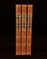 1899 3Vols Charles Kingsley Hypatia Alton Locke Westward Ho Novels Collection