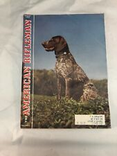 American Rifleman Magazine 1961 August German Shorthaired Pointer Dog Cover