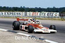 GILLES Villeneuve McLaren m23 di British Grand Prix 1977 fotografia 5