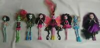 Lot Of 8 Monster High / Ever After High Dolls