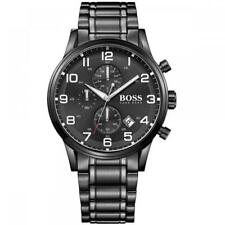 Mens Hugo Boss Aeroliner Chronograph Mens Black Watch - HB1513180