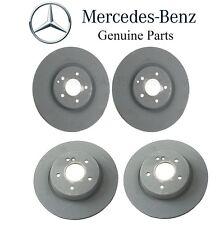 Mercedes W209 CLK500 Set of 2 Front & Rear Disc Brake Rotors Kit Vented 345X30mm