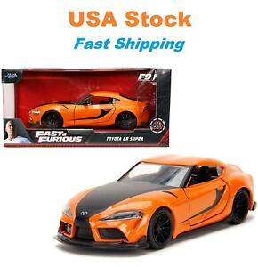 "Fast And Furious 2020 Han's Toyota Supra, JADA, Diecast Toy Car, 5"", 1:32, NIB"