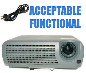 Mitsubishi SD110R DLP Projector - Acceptable Functional Portable w/Power Cable