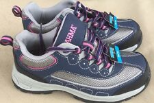 Women's Brahma SACHA Steel Toe Safety Shoes - Size 6 - Gray/Pink - New