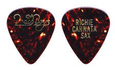 Beach Boys Richie Cannata Brown Guitar Pick - 1990s Tours