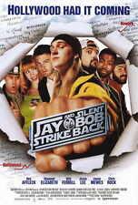 JAY AND SILENT BOB STRIKE BACK Movie POSTER 27x40 Kevin Smith Jason Mewes Jason