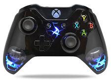 """Skulls Black"" Xbox One Custom UN-MODDED Controller Exclusive Design"