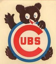 CHICAGO CUBS 1950s-60s DECAL