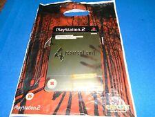 RESIDENT EVIL 4 - LIMITED EDITION - STEELBOOK - NEW & SEALED + BONUS! PS2