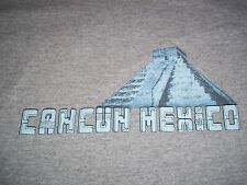 Cancun Mexico Pyramid T-Shirt Adult Medium