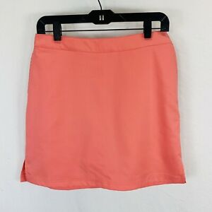 Greg Norman Everbest Golf Skort Side Zip Perfect Fit Coral Size 4