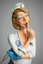 FO85544  FIGURINE METIER L INFIRMIERE  COLLECTION FORCHINO EXCEPTIONELLE