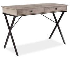 Modern Stratford Rustic 2-Drawer Writing Desk