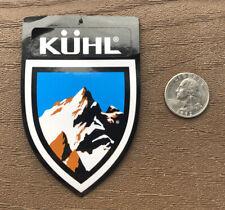 Kuhl Mountain Sticker Decal Hike Fish Camp Car Yeti Outdoor Logo Camping Fishing