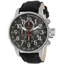 Invicta Men's Watch I-Force Chronograph Gunmetal Dial Black Fabric Strap 30920