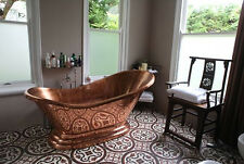 "Copper Bathtub ""Princess Alexandra"" Hand Made Package Deal"