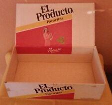 Vintage EL PRODUCTO Favoritas Cigar Box Empty