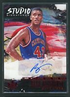 2018-19 BRAD DAUGHERTY 89/99 AUTO PANINI COURT KINGS STUDIO AUTOGRAPHS