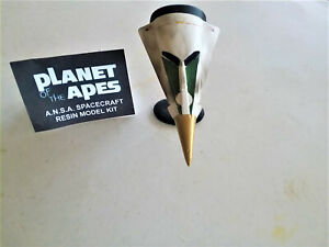 Planet of The Apes ANSA pro built resin space ship w/display stand