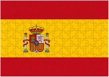 Spain Flag A4 JIGSAW Puzzle Birthday Christmas Gift (Can Be Personalised)